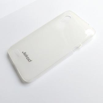 JEKOD TPU Ochranné Pouzdro Biele pro HTC Desire VT