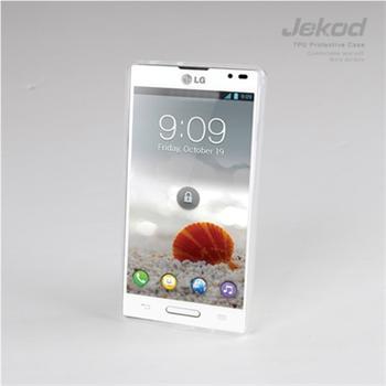 JEKOD TPU Ochranné Pouzdro Biele pro LG P760 L9