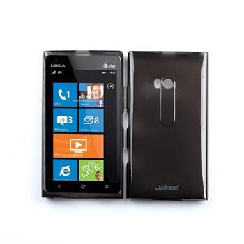 JEKOD TPU Ochranné Pouzdro Black pro Nokia Lumia 900