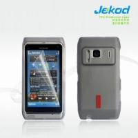 JEKOD TPU Ochranné Pouzdro Black pro Nokia N8