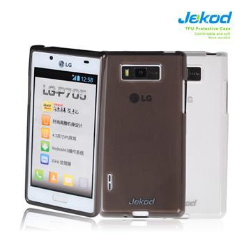 JEKOD TPU Ochranné Pouzdro Čierne pro LG E960 Optimus Nexus