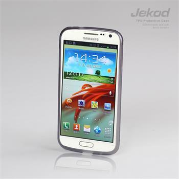 JEKOD TPU Ochranné Pouzdro Čierne pro Samsung i9260 Galaxy Premier