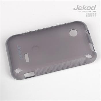 JEKOD TPU Ochranné Pouzdro Čierne pro Sony Xperia Tipo (ST21i)