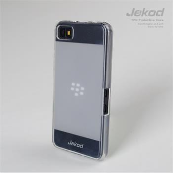JEKOD TPU Ochranné Pouzdro White pro BlackBerry Z10