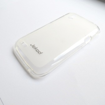 JEKOD TPU Ochranné Pouzdro White pro HTC Desire V
