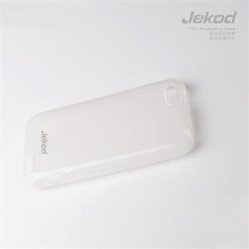 JEKOD TPU Ochranné Pouzdro White pro HTC ONE V
