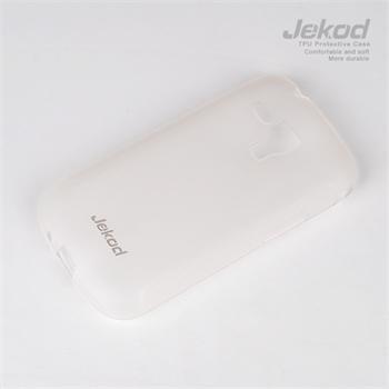 JEKOD TPU Ochranné Pouzdro White pro Samsung S5302 Pocket Duos