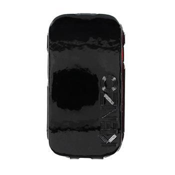 KENZO Kožené Flip Pouzdro Glossy Black pro Samsung i8190 Galaxy S3mini, S3 mini i8200 VE (EU Blister)
