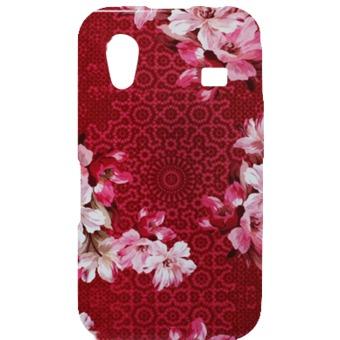 KENZO Zadní Kryt Flower Red pro Samsung S5830 (EU Blister)