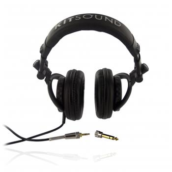 KitSound DJ Stereo Sluchátka Black (EU Blister)