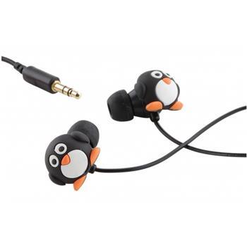 KitSound Penguin Stereo HF 3,5mm (Bulk)