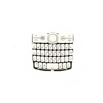 Klávesnice ENG Nokia Asha 205 White