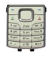Klávesnice Nokia 6500c Silver