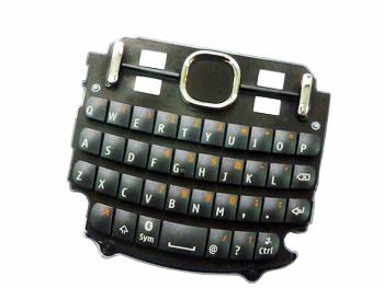 Klávesnice Nokia Asha 200/201 Graphite