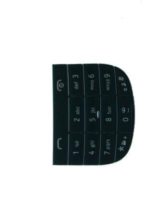 Klávesnice Nokia Asha 203 Black