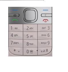 Klávesnice Nokia C5 Pink