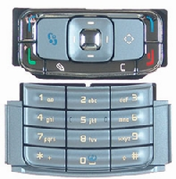 Klávesnice Nokia N95 Silver