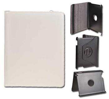 Knižkové puzdro pre tablet IPAD2/IPAD3, Biele