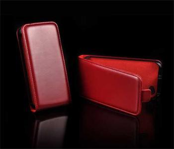 Knižkové puzdro Slim HTC Desire X, Červené