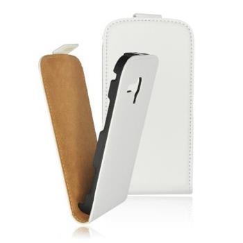 Knižkové puzdro Slim Samsung Galaxy S4 i9500 / i9505, Biele