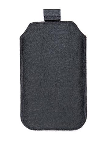 Kožené púzdro veľkosť 02 čierne s pásikom pre LG A-100, Samsung E1202, Nokia 3310, SE K530i, Motorola WX395, Samsung E1200. Samsu