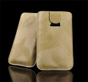 Kožené púzdro Zumi Khaki pre ZTE Acqua, HTC HD2, ZTE Skate, ZTE Blade 3, ZTE Acqua, ZTE Granf X IN, ZTE Kis, ZTE Kis Li