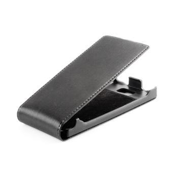 Koženkové knižkové púzdro SLIGO Premium Flip Sony Xperia J ST26i Čierne