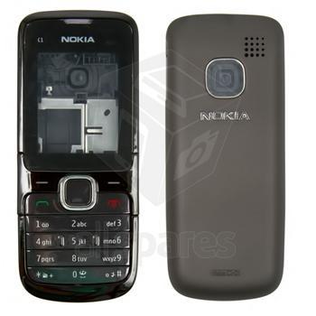 kryt Nokia c1-01 black