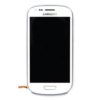 LCD display, Dotyk plus Přední kryt Samsung i8190 Galaxy S3mini White