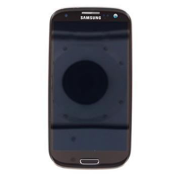 LCD display, Dotyk plus Přední kryt Samsung i9300 Galaxy S3 Brown