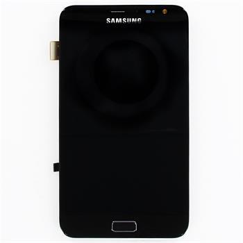 LCD Displej + Dotyk + Rám Samsung Galaxy Note N7000 Black