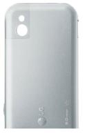 LG KM900 Silver Kryt Baterie Orange Brand.