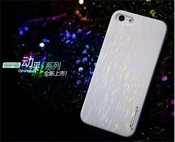 Nillkin Dynamic Colors Zadní Kryt Biely pro iPhone 5/5S/SE