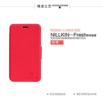 Nillkin Fresh Folio Pouzdro Red pro Nokia Lumia 620