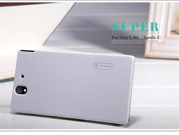 Nillkin Super Frosted Zadní Kryt Biely pro Sony Xperia Z C6603
