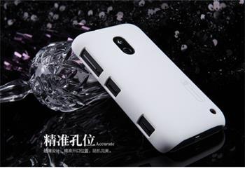 Nillkin Super Frosted Zadní Kryt White pro Nokia Lumia 620