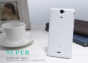 Nillkin Super Frosted Zadní Kryt White pro Sony Xperia V LT25i