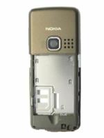 Nokia 6300 B cover střední díl Choco