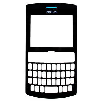 Nokia Asha 205 Dark Rose Přední Kryt