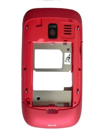 Nokia Asha 302 Red Střední Díl
