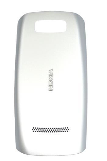 Nokia Asha 305, 306 Silver White Kryt Baterie
