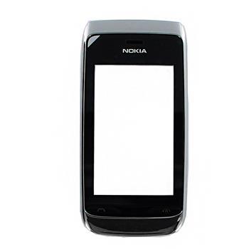 Nokia Asha 309 White Přední Kryt vč. Dotyku