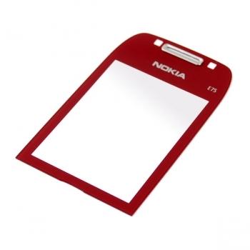 Nokia E75 Red Sklíčko Displeje