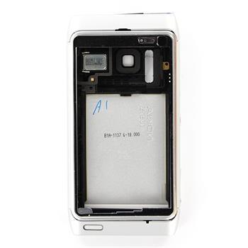 Nokia N8 White Silver Kompletní Kryt