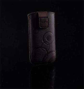 Púzdro DEKO 1 hnedé, veľkosť 12 pre telefóny HTC HD2/ONE V/ Samsung i9000/i9100 a iné