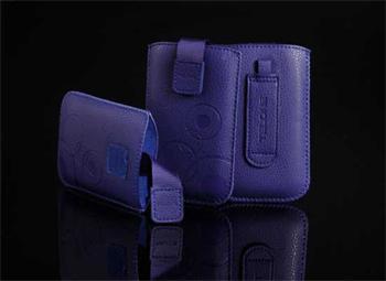 Púzdro DEKO 1 modré, veľkosť 07 pre telefóny LG KP500/Sam S5230/HTC Wildfire/Wildfire S/Desire C/Sony Xperia Tipo
