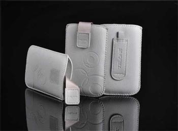Púzdro DEKO 1 strieborné, veľkosť 13 pre telefóny Samsung i9300/HTC ONE X/LG L9/ Nokia 920/Sony Xperia T