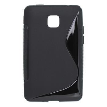 Puzdro gumené LG Optimus L3 II čierne