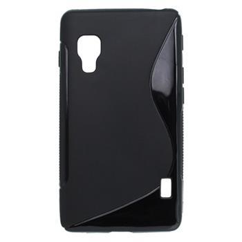 Puzdro gumené LG Optimus L5 II čierna