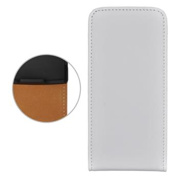 Puzdro koženkové Nokia X3-02 biele